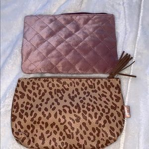 IPSY makeup pouch (set of 2)